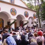 Slujba de sfintire a Bisericii Sfanta Vineri Berceni